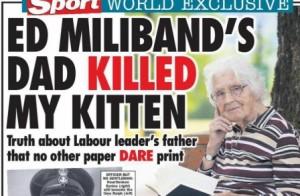 ralph miliband kitten killer