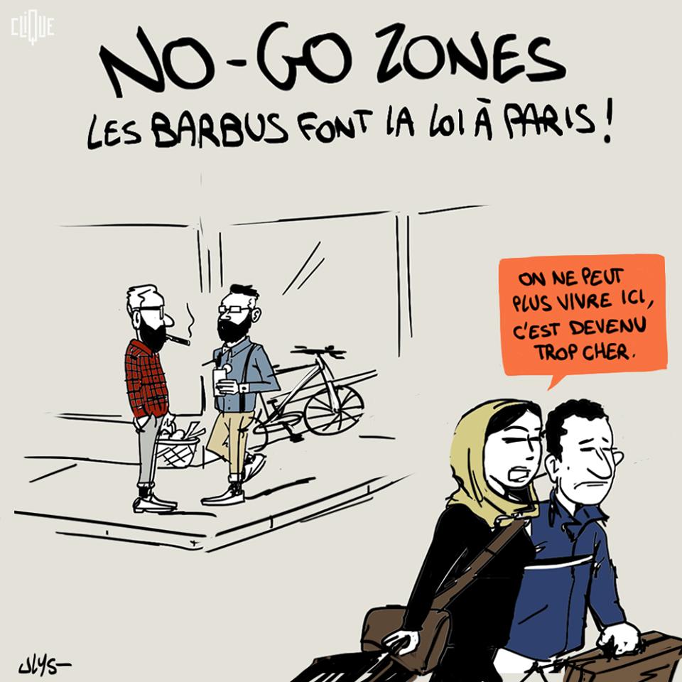 paris no go zone