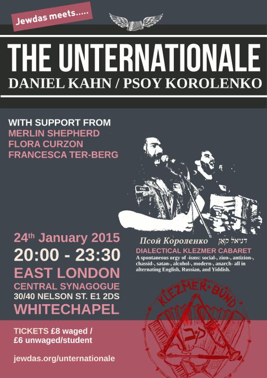 Unternationale poster