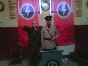 Organiser neo-Nazi Eddie Stampton