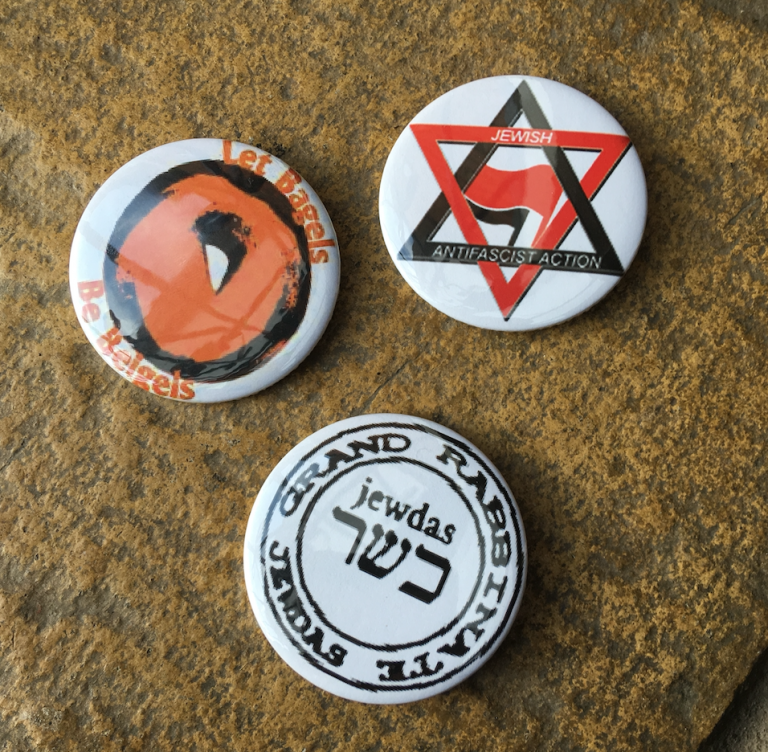 Jewdas Badges (Large)