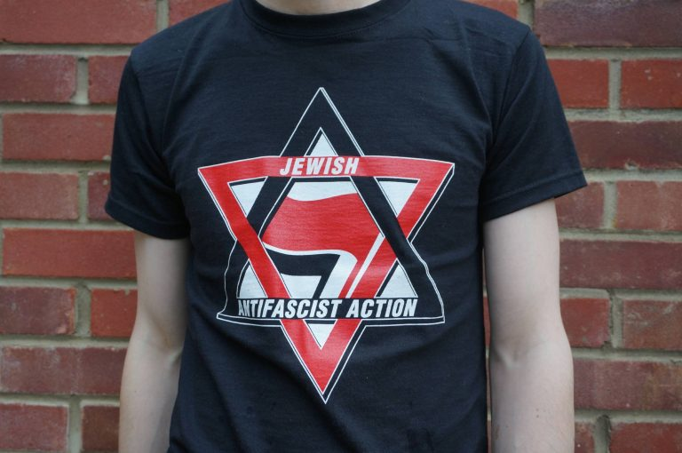 Jewish Antifascist Action T-shirt