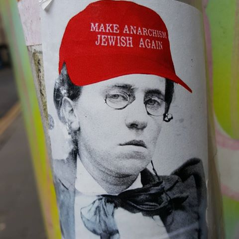 Make Anarchism Jewish Again Stickers