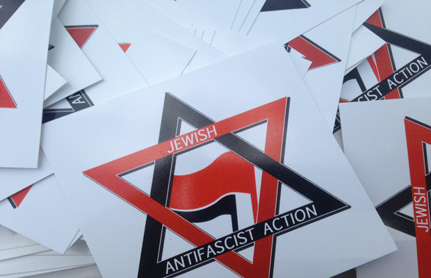 Jewish Antifascist Action Stickers